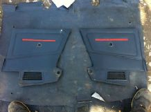 peugeot 205 1.9 / 1.6 cti pair of rear door cards cti !!!